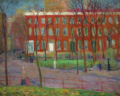 William James Glackens, 'Washington Square', ca. 1912