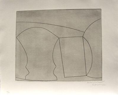 Ben Nicholson, 'Two Goblets And A Mug', 1967