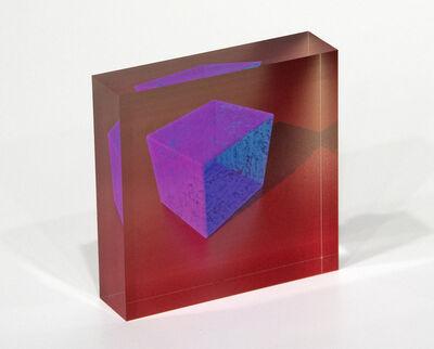 Ronald Davis, 'A Cube Now, PXD_2018_43A-B', 2018