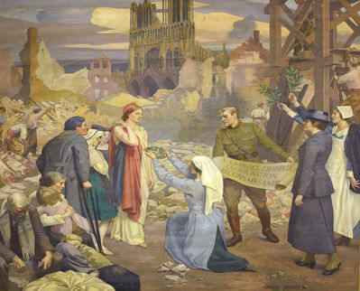 Cameron Burnside, 'In Homage to the French People', 1919