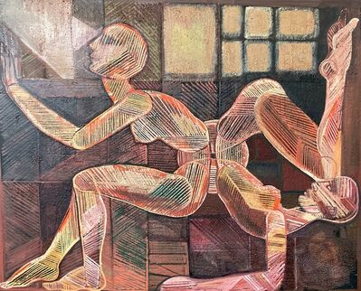 guillermo ceniceros, 'Dos Mujeres', 2001