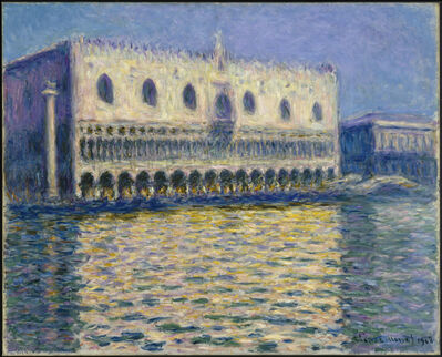 Claude Monet, 'The Doge's Palace (Le Palais ducal)', 1908