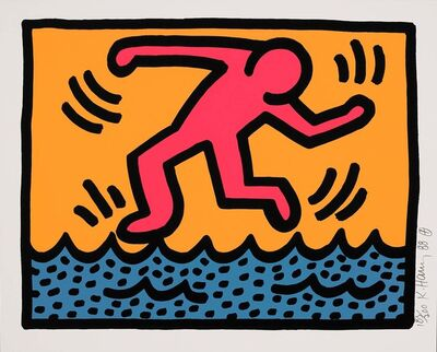 Keith Haring, 'Untitled, 1988 (Pop Shop II - A)', 1988