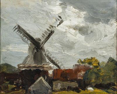 Robert Henri, 'Windmill near Edam ', 1907