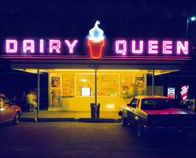 Jim Dow, 'Dairy Queen, Iowa City, Iowa', 1988