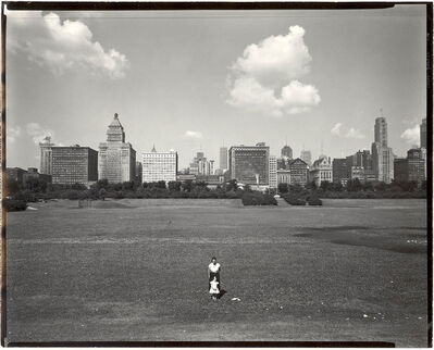 Harry Callahan, 'Eleanor and Barbara, Chicago', 1953