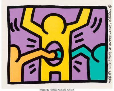 Keith Haring, 'Untitled. from Pop Shop I', 1987