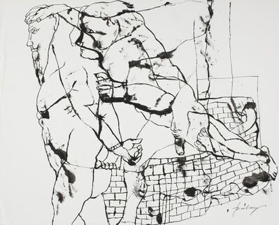 Lajos Szalay, 'Prisoner', ca. 1965