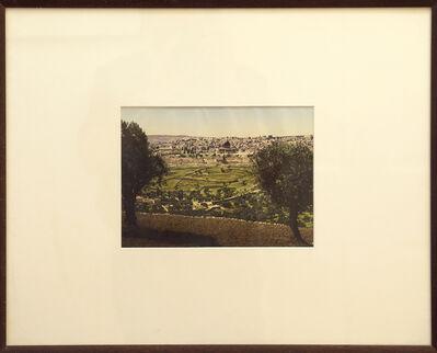 Unknown Artist, 'Jerusalem from Mount of Olives', 1890-1900