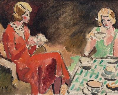 Louis Valtat, 'Afternoon Tea, circa', 1925
