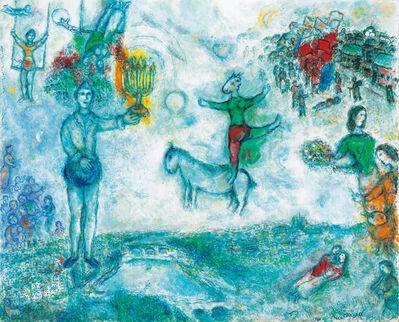 Marc Chagall, 'Paysage de Paris', 1978
