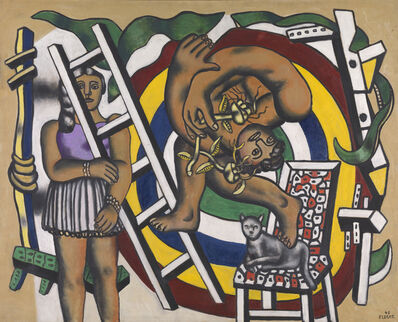Fernand Léger, 'The Acrobat and his Partner ', 1948