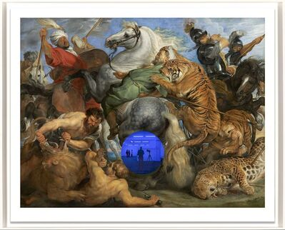 Jeff Koons, 'Gazing Ball (Rubens Tiger Hunt)', 2017