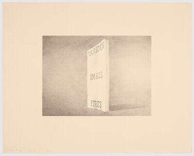 Ed Ruscha, 'Various Small Fires', 1970