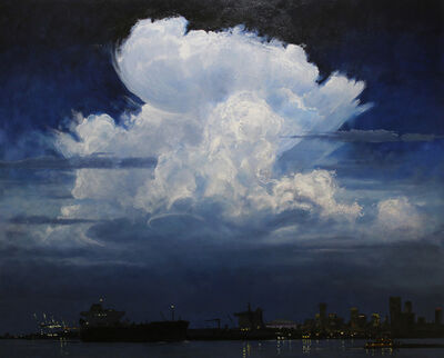 Billy Solitario, 'Clouds Over the Crescent City', 2018