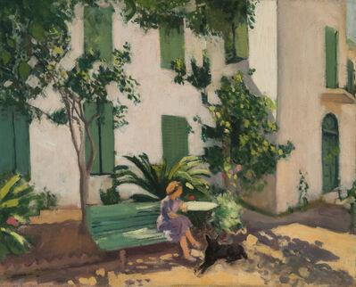 Albert Marquet, 'Le repos devant la maison', 1944