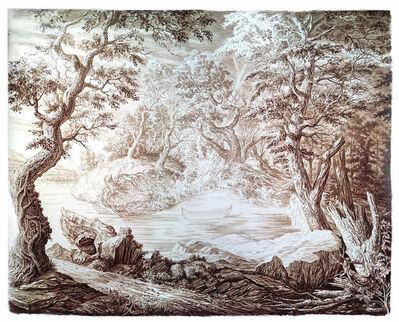 Rick Shaefer, 'Untitled (Landscape with Canoe)', 2020