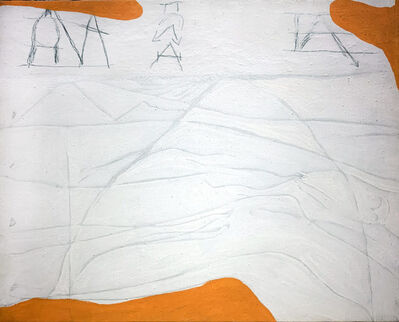 Gastone Novelli, 'A.5', 1963