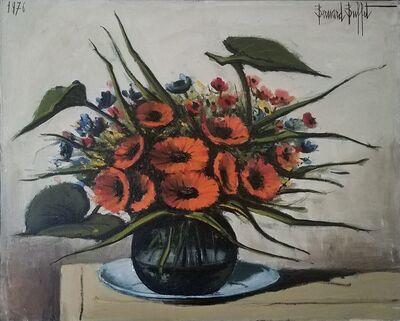 Bernard Buffet, 'Grand bouquet de soucis', 1976