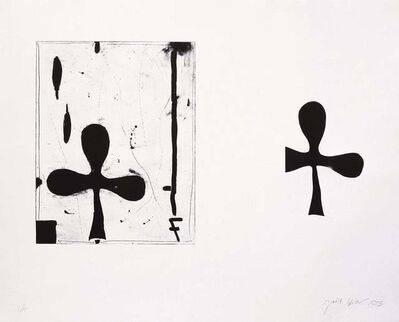 Joël Leick, '2 Trèfles Noirs a Pollença', 1994