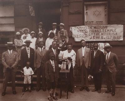 James Van Der Zee, 'XIII: Black Jews, Harlem', 1929
