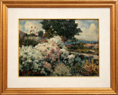 MATO CELESTIN MEDOVIĆ, 'Landscape with Heath', 1914
