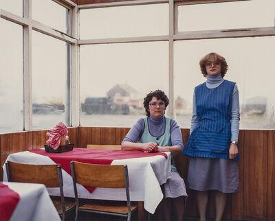 Paul Graham, 'Café Assistants, Compass Café, Colsterworth, Lincolnshire, November', 1982