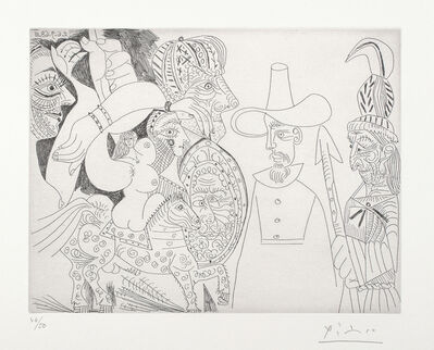 Pablo Picasso, '347 Series: plate 338', 1968