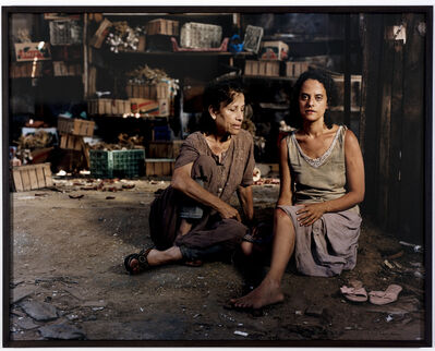Adi Nes, 'Ruth & Naomi', 2006
