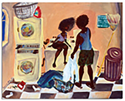 Zeal Harris, 'Lovers Doin' Laundry ', 2019