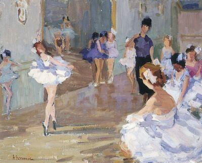 Nadezhda Eliseevna Chernikova, 'Ballet class', 1978