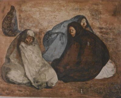 Francisco Zúñiga, 'Grupo de Mujeres Sentadas, I', 1974