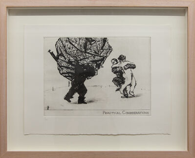 """William Kentridge, 'Early Prints-""""Little Morals"""" Series, Edition of 40', 1991"""