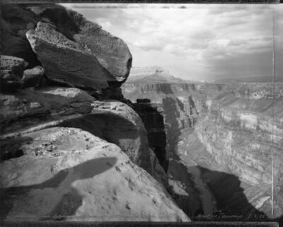 Mark Klett, 'View of the Grand Canyon in homage to William Bell, east of Toroweap, 7/3/88'