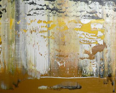 Harry Moody, 'Black Yellow Abstract Horizon #4'