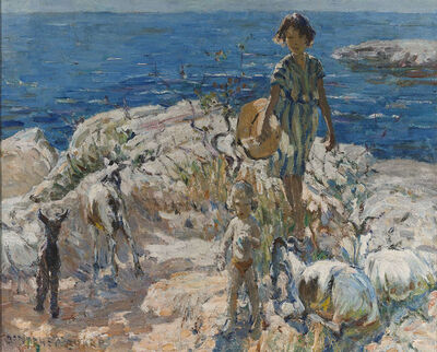 Dorothea Sharp, 'A Summer Walk', 20th Century