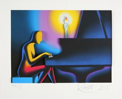 Mark Kostabi, 'The Right Note', 2015