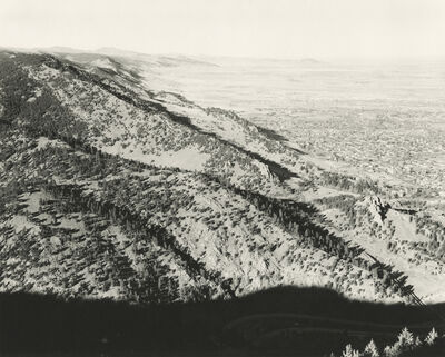 Robert Adams (b.1937), 'North from Flagstaff Mountain, Boulder County Colorado', 1977