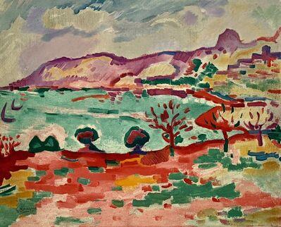 Georges Braque, 'Paysage A L'estaque', 1973