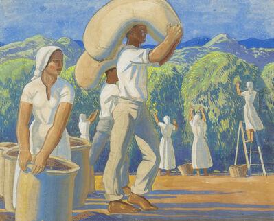 Rockwell Kent, 'Plantation in Sao Paulo, Brazil', ca. 1945