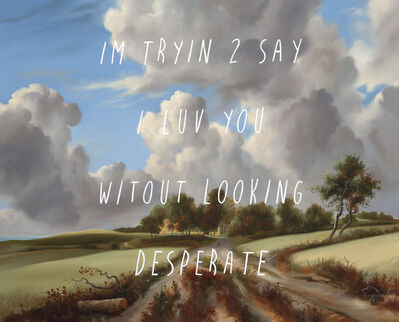 Shawn Huckins, 'Wheat Fields: I'm Trying To Say I Love You Without Looking Desperate', 2021
