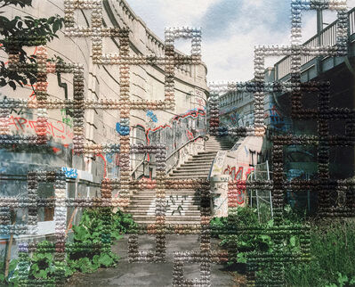 Diane Meyer, 'Stairs, Bosebrucke', 2016