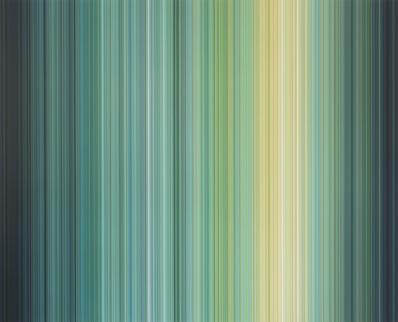 Yagiz Özgen, 'Morning on the Seine (450 Stripes) #3', 2019