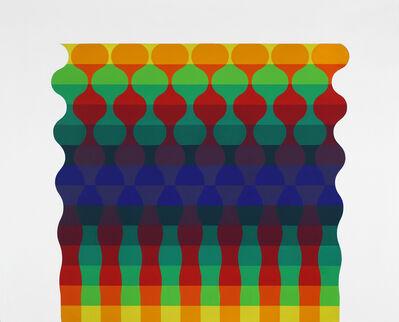 Julio Le Parc, 'Ondes 122 serie 12 número 1 ', 1973