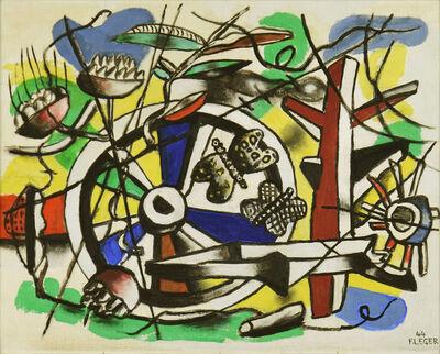 Fernand Léger, 'Les Papillons dans la Roue', 1944