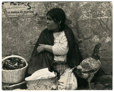 Paul Strand, 'Woman with Hen, Tenanting, Mexico', 1933
