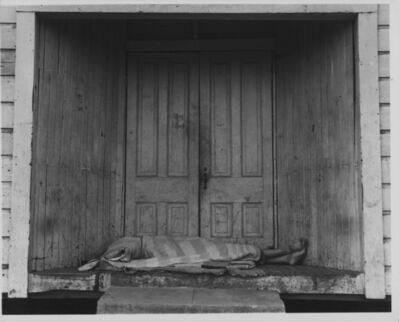 Dorothea Lange, 'Death in Doorway, San Joaquin Valley, California', 1938-printed 1960