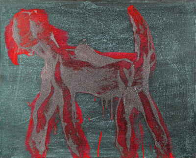 Peter Mayer, 'Dog Painting 11', 1990