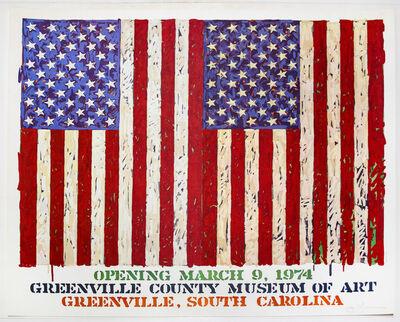 Jasper Johns, 'Greenville County Museum of Art Poster ', 1974