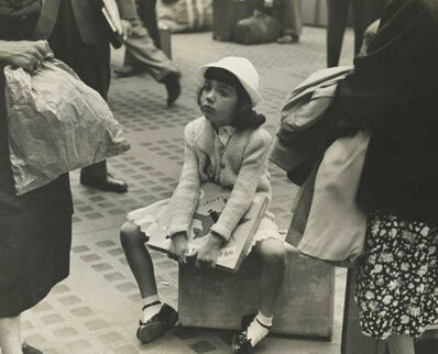 Ruth Orkin, 'Waiting, Penn Station, NYC', 1947